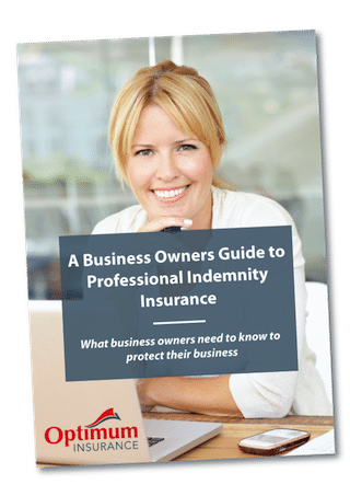 Professional Indemnity Guide Cover